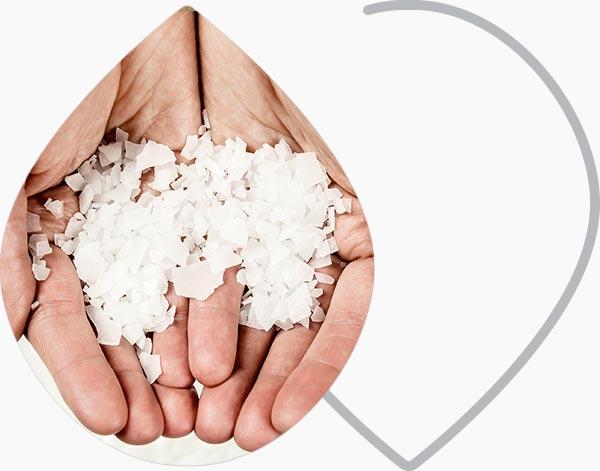 magnesium dans une main