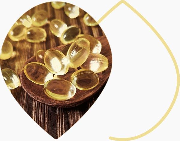 Summplément de vitamine D en capsules